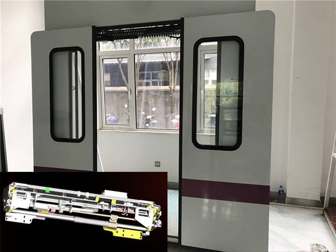 EOSP300 Screw Driving Bus Door Systems , Electric Out Bus Door Mechanism For LRV / Metro